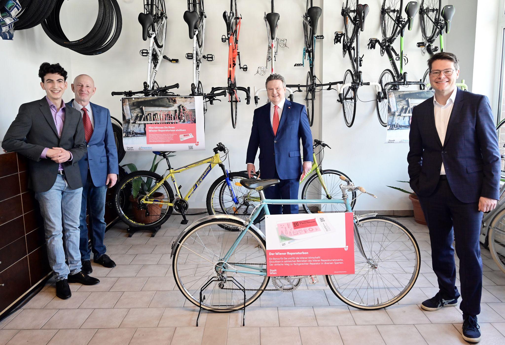 """Medientermin von Bürgermeister Ludwig und Stadtrat Czernohorszky zu """"Wiener Reparaturbon wird aufgestockt!"""""""