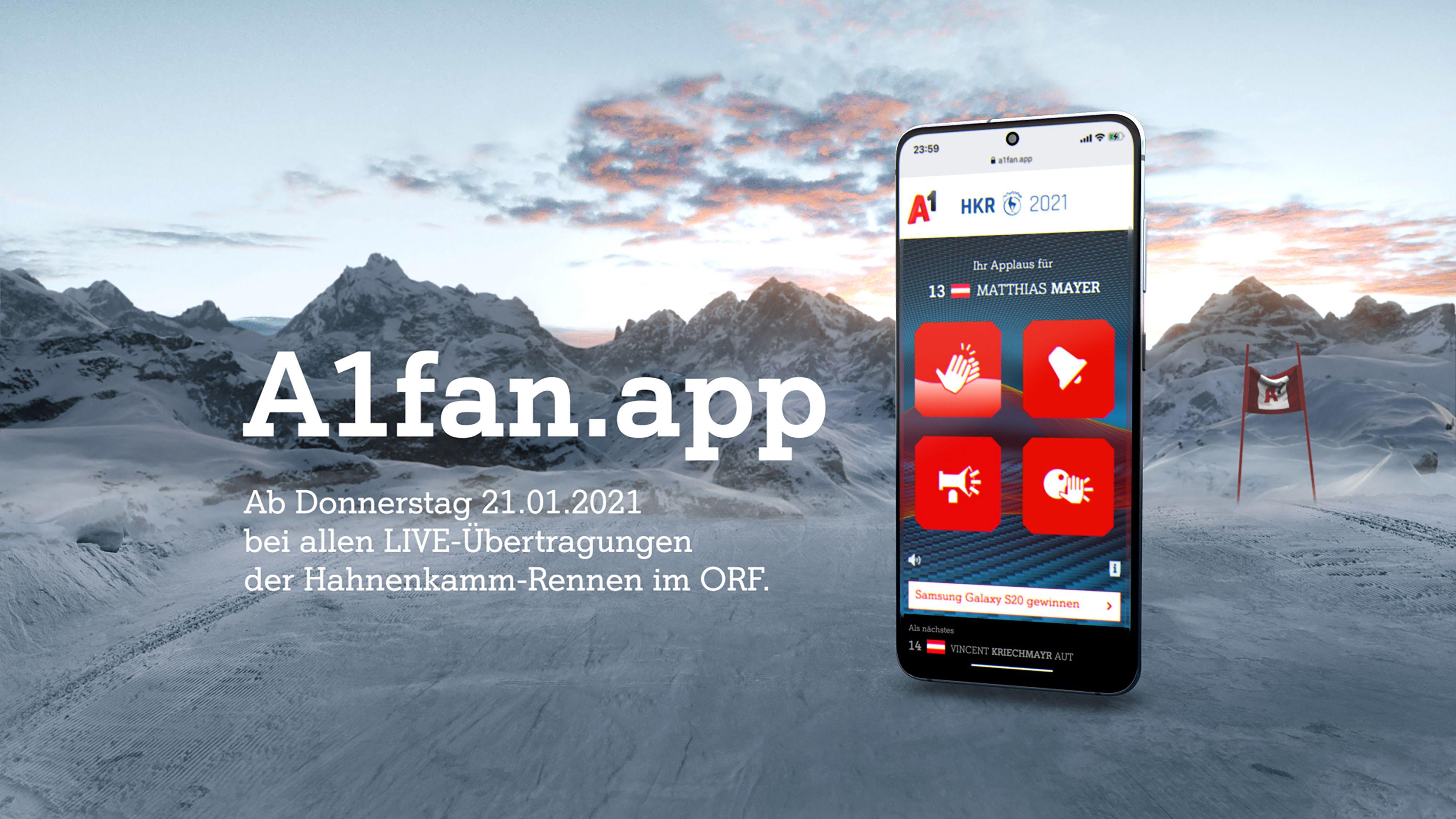 Visualisierung A1fan.app