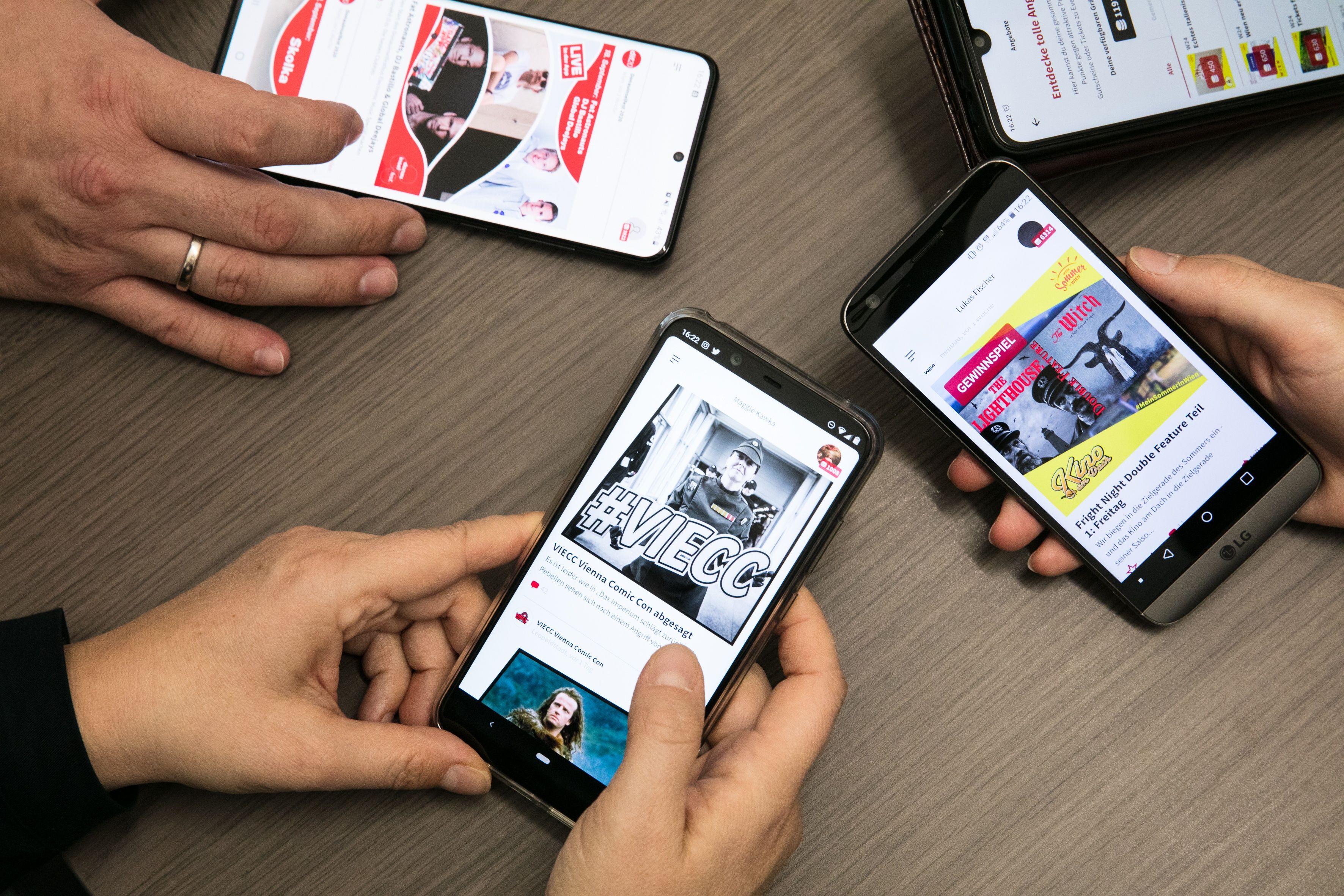 WH-Interactive - dabei! App - Smartphones